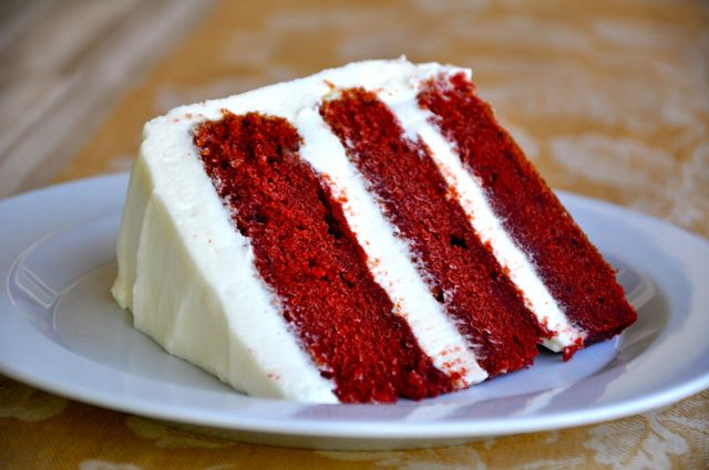 Red Velvet Cake with Cream Cheese Frosting | Making Life Delicious ...