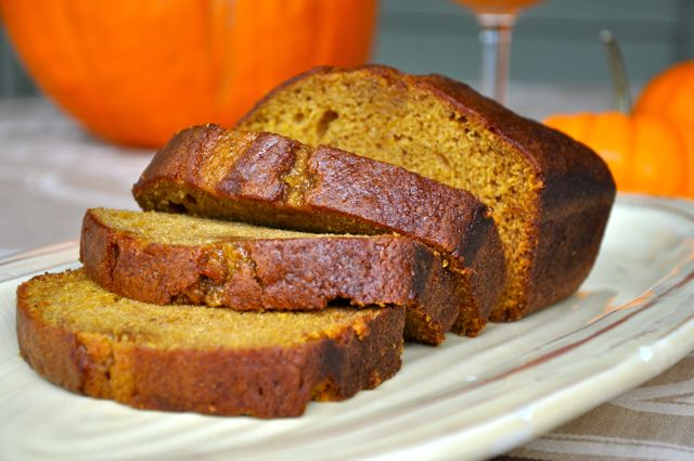 Spiced Pumpkin Bread, or Is It Cake? Making Life Delicious