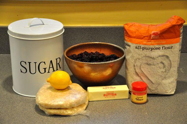 Recipes for blackberry pie