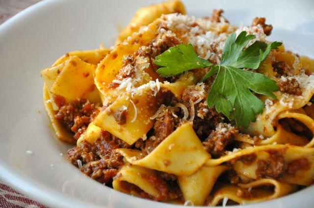 pappardelle alla bolognese livin the pie life livin the pie life