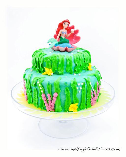 Little Mermaid Birthday Cake Livin The Pie Life Livin The Pie Life
