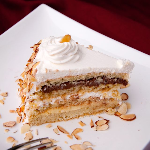 Italian Wedding Cake Aka Cream Cake Aka Rum Cake