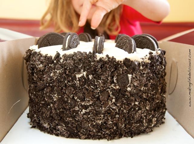 Oreo Cookie Cake Recipe From Scratch